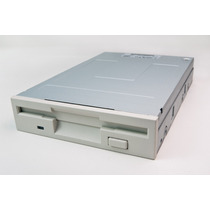Floppy Drive Para Disquete 1,44 Mb Branco Novo Lacrado