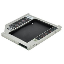 Adaptador Dvd P/ Hd Ou Ssd Notebook Drive Caddy 12.7mm Sata