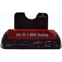 Dock Station P/ 2 Hds Sata De 2,5 E3,5 Usb / E-sata Docking