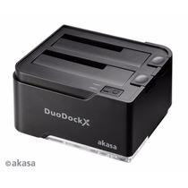 Dock Hd 2.5/3.5 Duodock 2s Usb 3.0 - Ssd E Sata - Akasa ·