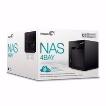 Case Storage Para 4 Hd Nas Seagate Stcu100 Raid 0,1,5,6 E 10