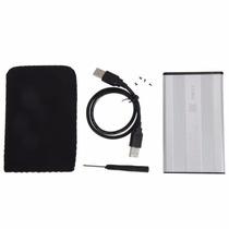 Case Usb Hd Externo 2.5 Sata Notebook 2.5 Pc Mac Apple