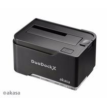 Dock Hd 2.5 3.5 Duodock 2s Usb 3.0 - Ssd E Sata - Akasa