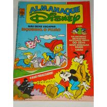Almanaque Disney Nº 134 De 1982 Com Muitas Histórias Q. Novo