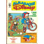 Almanaque Disney # 186 - O Grande Racha De Bicicros- Nov1986