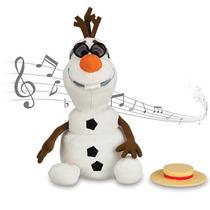 Boneco Disney Frozen Olaff Que Canta, Danca E Fala 26 Cm