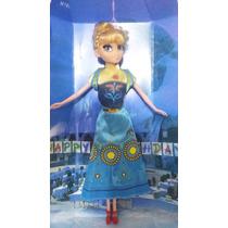 Boneca Musical - Frozen Fever - Anna - Lançamento