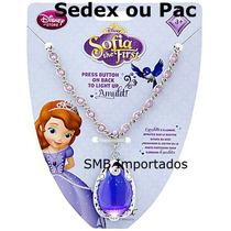 Colar Princesa Sofia Original Loja Da Disney - Em Estoque.