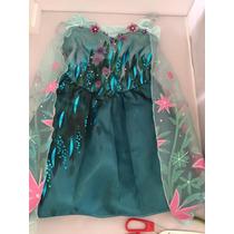 Fantasia Elsa Frozen Fever Disney Store Tam 3 Original