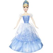 Boneca Princesa Cinderela Princesas Disney 2 Em 1 Original