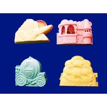 Disney Miniaturas Matell 4 Casas Desenhos Importadas Novas