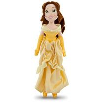 Boneca Princesa Bela Plush A Bela E A Fera-53cm Disney Store