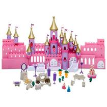 Castelo Reino Encantado Das Princesas - 34cm De Altura.