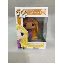 Boneca Rapunzel Pascal Enrolados Funko 10cm Original Disney