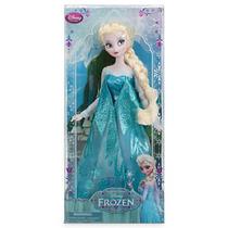 Boneca Disney Store Original Elsa Filme Frozen 31 Cm