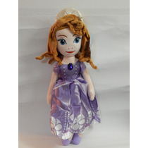 Boneca Pelúcia Princesa Sofia 50cm Pronta Entrega
