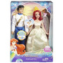 Bonecos Disney Princess Ariel & Prince Eric Wedding