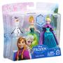 Frozen Kit Com 3 Bonecos Elsa Anna Olaf Prontaentrega Mattel