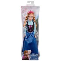 Boneca Princesa Anna Brilhante-disney Frozen- Mattel.baixou!