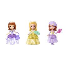 Kit Com 3 Mini Boneca Sofia The First Mattel
