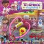 Doutora Juguetes Kit Médico + Boneca E Personagens