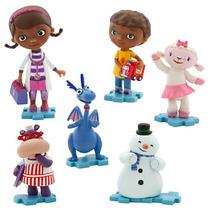 Kit Bonecos Dra Brinquedos Miniatura Original Disney Store