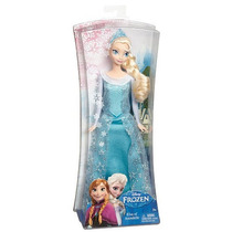 Boneca Elsa Do Filme Frozen Disney - Original Da Mattel