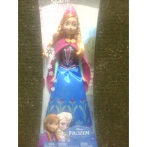 Boneca Princesa Anna Do Filme Frozen - Original Da Mattel