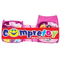 Barraca Portátil Com Túnel Princesas Disney - Zippy Toys
