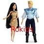 Pocahontas E John Smitt Origianais Disney