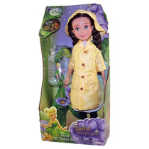 Boneca Disney Lizzyrara -tinker Bell - Sininho No Brasil