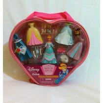 Cinderela Boneca Disney ,tipo Polly Hasbro Maleta