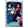 2 Bonecas Frozen Princesa Ana + Elsa Pronta Entrega + Olaf