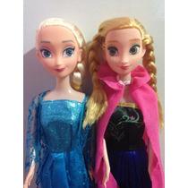 Bonecas Anna + Elsa Filme Disney Frozen Roupas Tradicionais