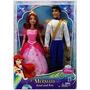 Boneca Ariel Com Principe Disney Princesa - Mattel