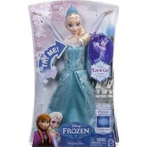 Boneca Elsa Frozen Disney Musical - Mattel
