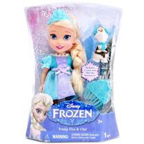 Boneca Filme Frozen Disney Menina Pequena 15 Cm Elsa Sunny