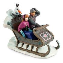 Mini Trenó Anna - Kristoff - Olaf De Corda Frozen Disney