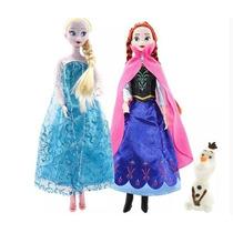 Kit C/2 Bonecas Frozen Envio Imediato+brinde