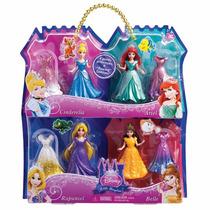 Bonecas Mini Princesas Disney - Kit Magiclip - Mattel