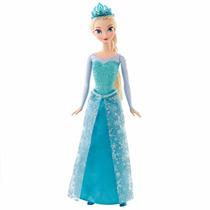 Boneca Frozen Elsa Ou Ana - Mattel Original + Brinde