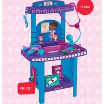 Kit Doutora Brinquedos - Movel + 13 Acessórios