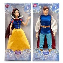 Bonecas Disney Store Branca De Neve E O Principe Encantado