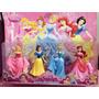 Kit Com 4 Bonecas Princesas Disney * Branca De Neve * Ariel
