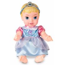 Boneca Cinderela Baby Bebe 27 Cm Princesas Disney Mimo