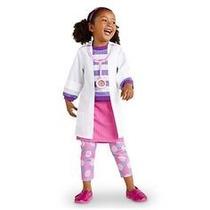 Fantasia Doutora Dra. Brinquedo Disney Junior Kit Da Dra.