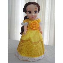 Boneca Mini Animators Princesa Bela Disney