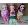 Coleção Baby Princesas 3 Bonecas Mássias E Cheirosas! Mimo