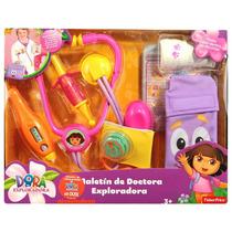 Maleta Dora A Aventureira Kit Medico Infantil Mattel