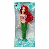 Boneca Disney Princesa Ariel Pequena Sereia Original P Ent.